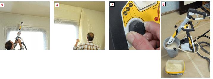 Technik Farbsprühsystem W995 und Reinigung